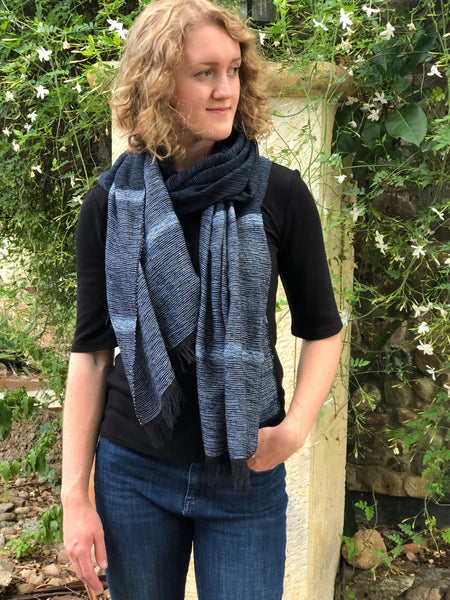 Cabo scarf - Midnight - Abrazo Style Shop