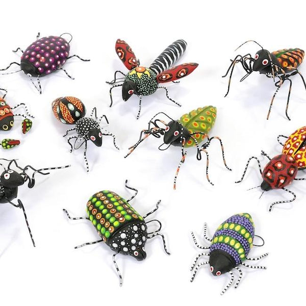 Ceramic and Wire Insects - Abrazo Style Shop