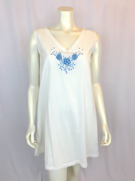 "Dulce nightgown ""Forget-me-not"" - Abrazo Style Shop"