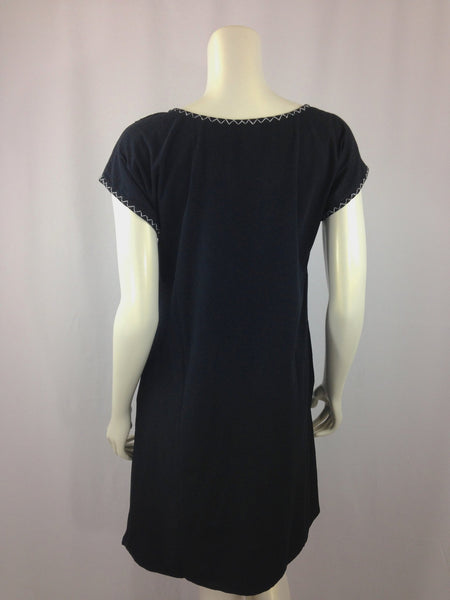 Lilia - black salt and pepper dress - Abrazo Style Shop