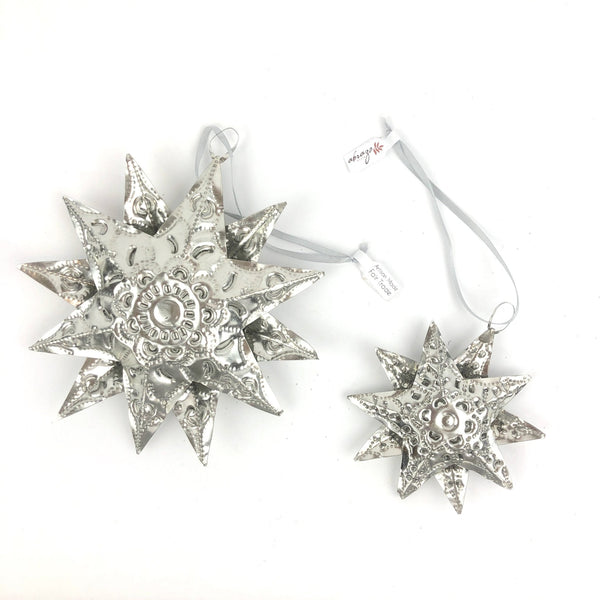 Tin Multi-point Stars - Abrazo Style Shop