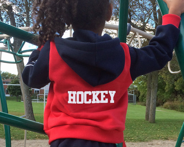 Customized hockey varsity jackets