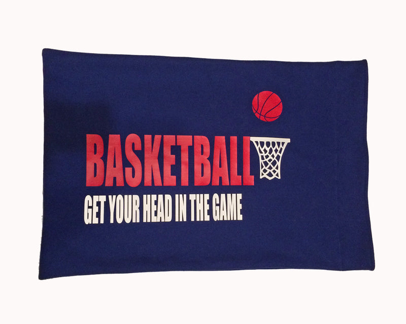 Customized pillow case for rep and school basketball team gifts
