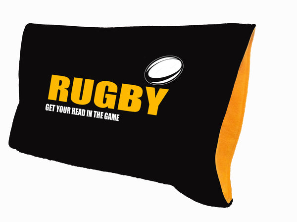 Rugby pillowcase