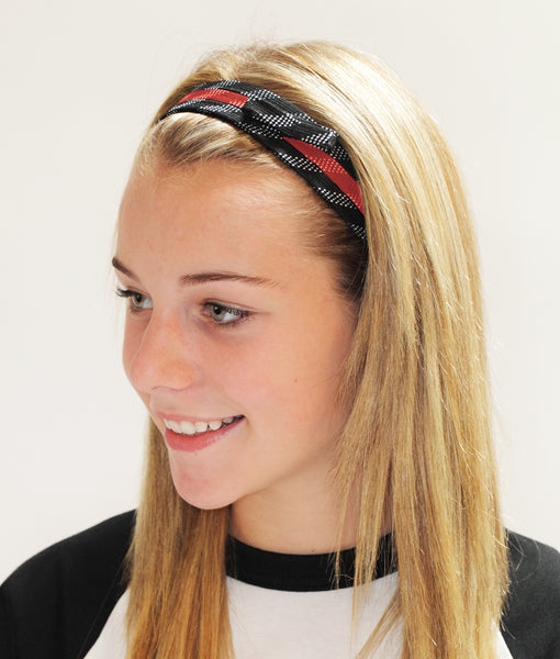 Hockey lace headbands - you choose the colours