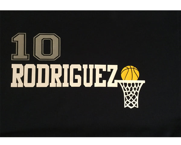 Personalized basketball player pillowcase