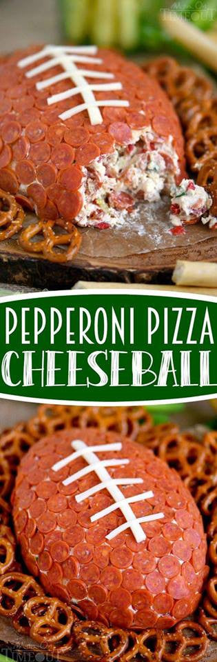Pepperoni Pizza Cheeseball