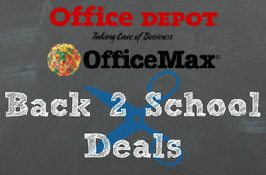 Office Max School Supplies Deal