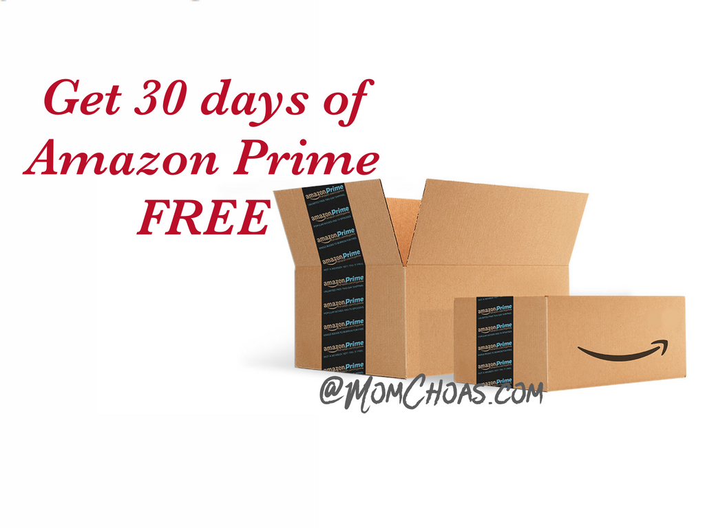 FREE 30 days of Amazon Prime
