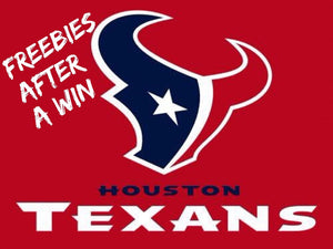 Freebies after Texans win