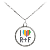 I Love RF Necklace