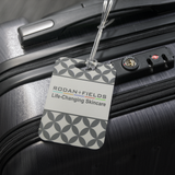 Rodan and Fields Life-Changing Skincare Luggage Tag Grey With Name