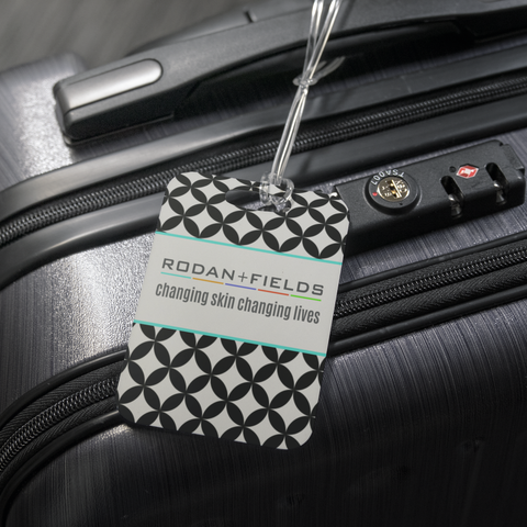 Rodan and Fields Luggage Tag Black