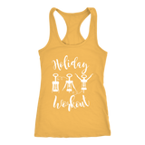 Holiday Workout With Wine-corks Tank Top