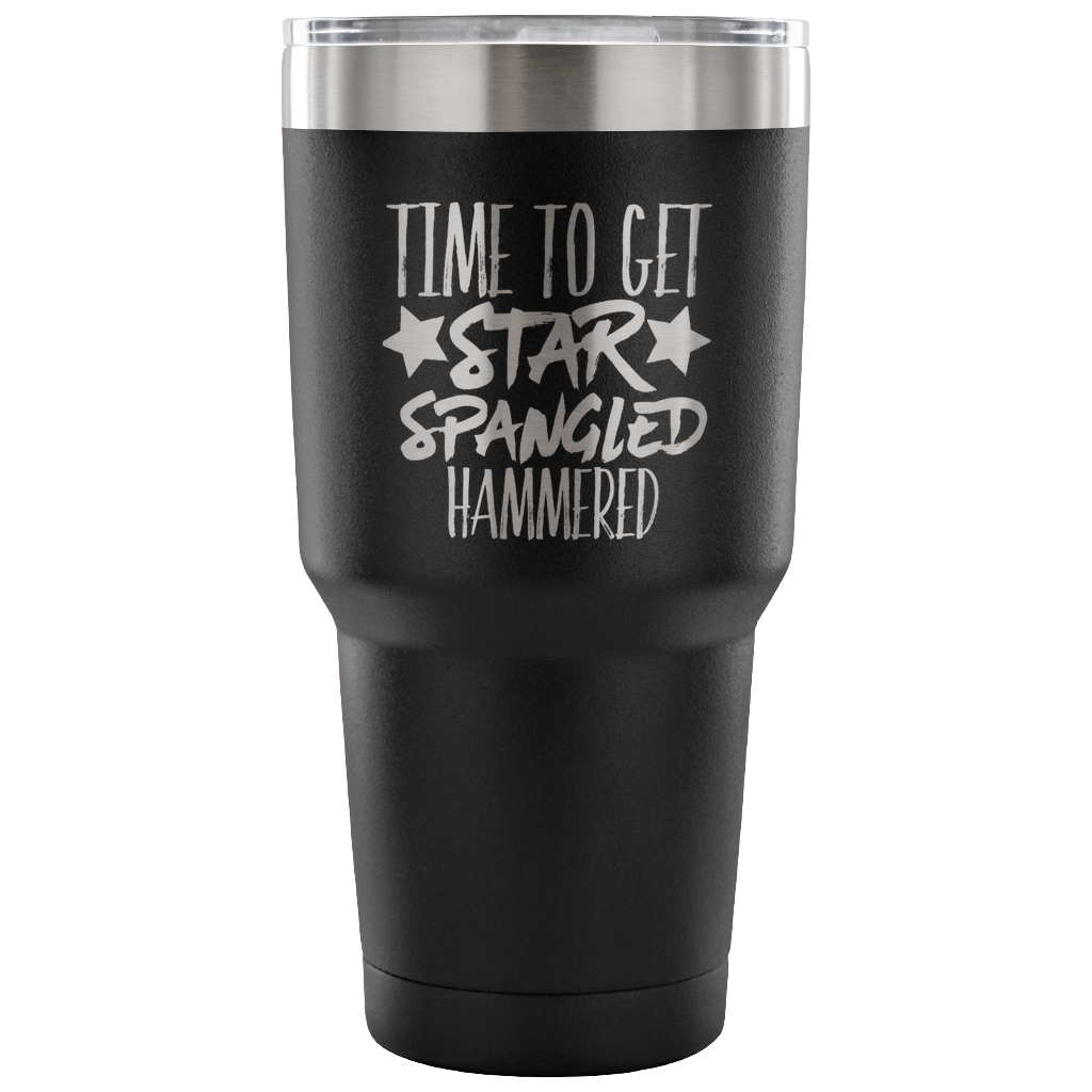 eff57fc6e88 Time To Get Star Spangled Hammered Tumbler Cup – Mom Chaos