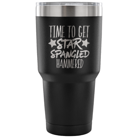 Time To Get Star Spangled Hammered Tumbler Cup