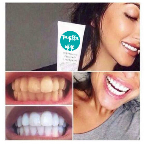 Natural Teeth Whitening Toothpaste