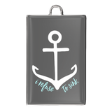 I Refuse To Sink Rectangle Charm Bracelet