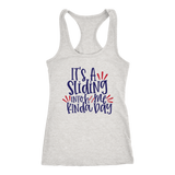 It's A Sliding Into Home Kinda Day Tank Top