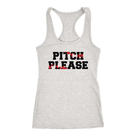Pitch Please Baseball Tank Top