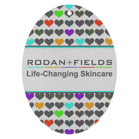 Rodan and Fields Hearts Air Freshener 3 Pack