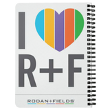 I Love Rodan and Fields Spiral Notebook