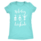 Holiday Workout With Wine-corks Shirt