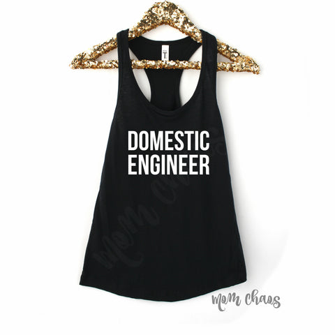 Domestic Engineer Tank Top