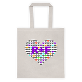 RF Hearts Tote bag - Beautiful Chaos - 2