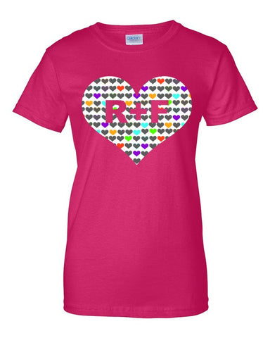 RF Heart Women's short sleeve t-shirt - Beautiful Chaos - 1
