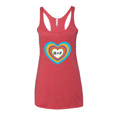Inside the Rodan and Fields Heart Women's tank top - Beautiful Chaos - 1