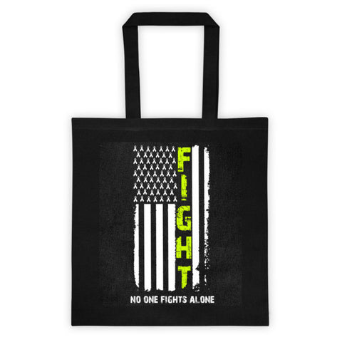 No one fights alone Tote bag - Beautiful Chaos