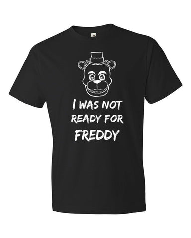 I was not ready for Freddy Adult shirt - Beautiful Chaos - 2