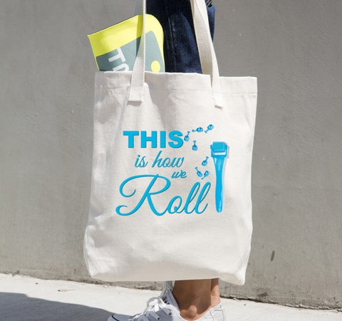 This is how we Roll Tote bag - Beautiful Chaos - 1