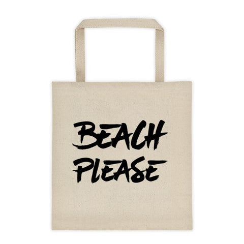 Beach Please Tote bag - Beautiful Chaos