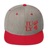 Forth of July Snapback Hat