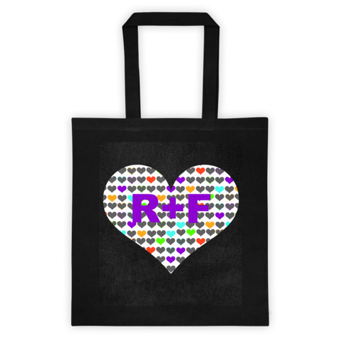 RF Hearts Tote bag - Beautiful Chaos - 1