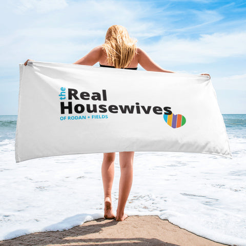 Real Housewives Of Rodan and Fields Beach Towel