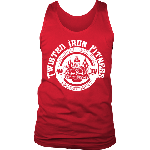 Twisted Iron Fitness Men's Tank Top