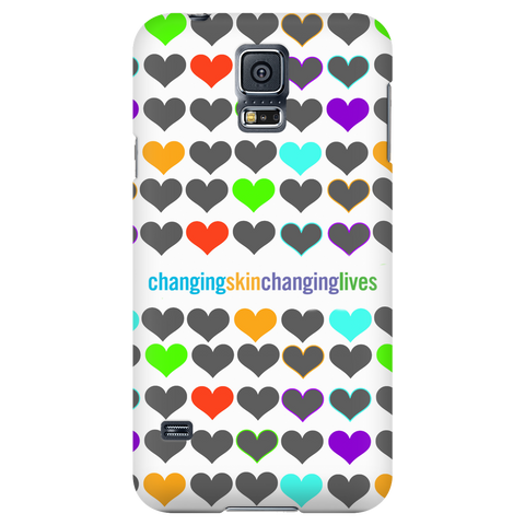 Changing Skin Changing Lives Phone Cases