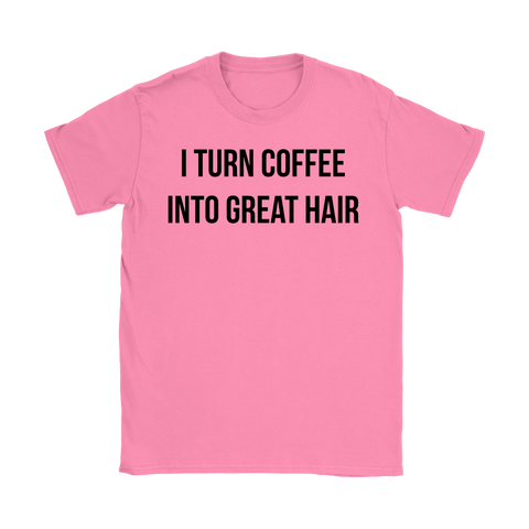 I Turn Coffee Into Great Hair