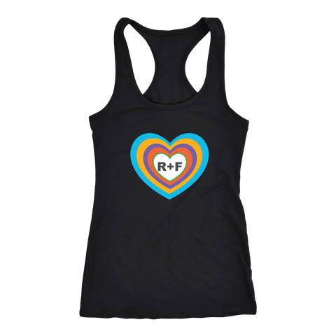 Inside RF Heart Tank Top