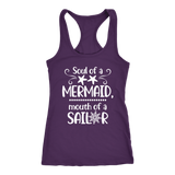 Soul Of A Mermaid, Mouth Of A Sailor Tank Top