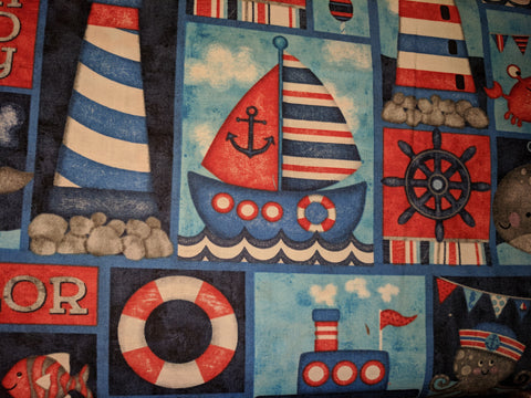 Anchors Away! Nautical motifs