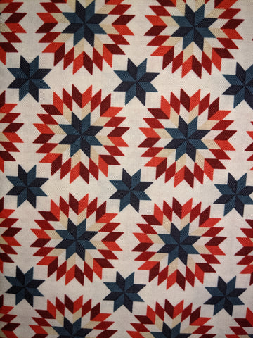 American Heritage Quilt Star White