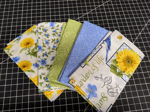 Fat Quarter Bundle - My Sunshine Garden