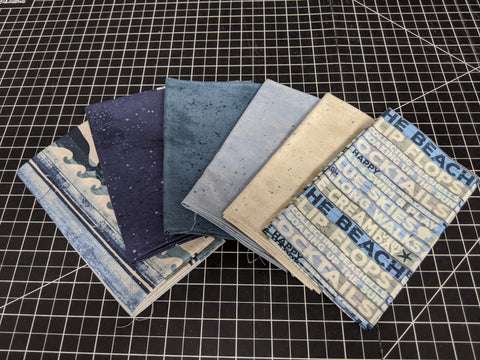 Fat Quarter Bundle - Beachhouse