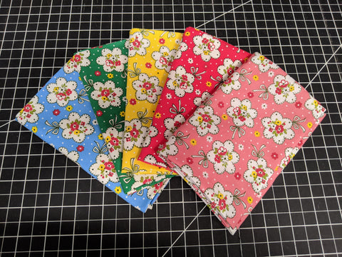Fat Quarter Bundle - 1930's Child Smile