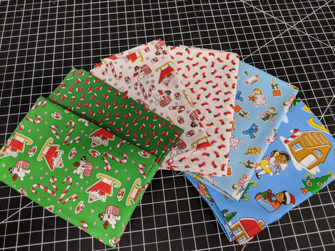 Fat Quarter Bundle - Candy Cane Lane