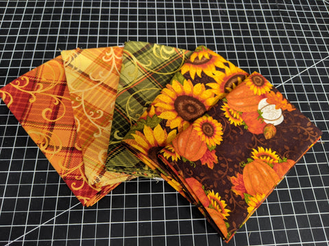 Fat Quarter Bundle - Autumn Plaid